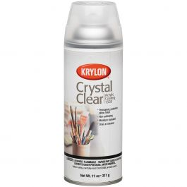 Crystal Clear Acrylic Coating Aerosol Spray 11Oz  - 1303