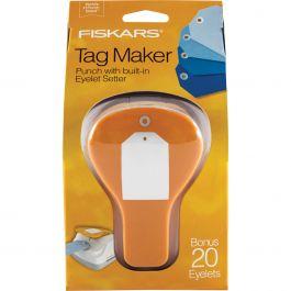 Fiskars Tag Maker Punch Simple - TMP-7510