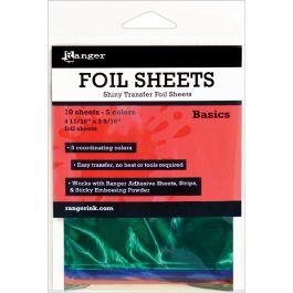 "Inkssentials Foil Sheets 4.69""X3.56"" 10/Pkg Basics 4.69""X3.56"" - ISF40552"