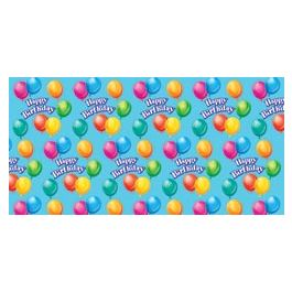 "Printed Gift Wrap 5'X30"" Roll Birthday Jubilee - PRNTGW-4311"