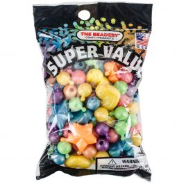 Pop Beads 12Mm & 25Mm 113G Pearl Multicolor - J821J110