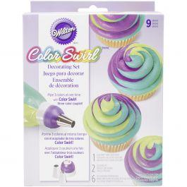 Color Swirl 3 Color Coupler Decorating Set  - W47072