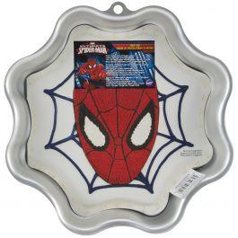 """Novelty Cake Pan Spider Man 11""""X11""""X2"""" - W2105CP-5072"""