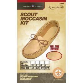 Leathercraft Kit Scout Moccasin  Size 10/11 - C4604-04