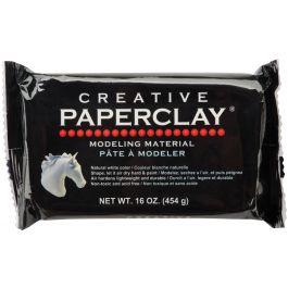 Creative Paperclay 16Oz White - 811