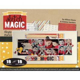 Scrapbook Generation Sketch Magic With Simple Stories - SGMAGIC