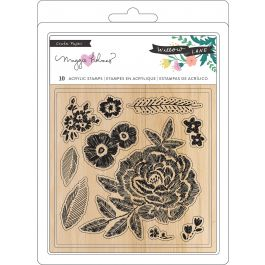 Maggie Holmes Willow Lane Clear Stamps 10/Pkg  - 344479