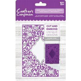 """Crafter'S Companion Cut & Emboss Folder 4.25""""X5.5"""" Heart Confetti - CCCEF-HECO"""