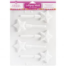 Lollipop Sheet Mold Star 5 Cavity (1 Design) - LOLLI5-5579