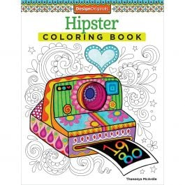 Design Originals Hipster Coloring Book - DO-5499