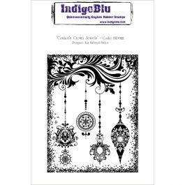 "Indigoblu Cling Mounted Stamp 5""X8"" Connors Crown Jewels - IND0121"