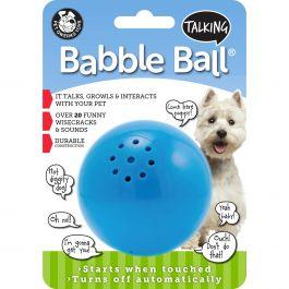 Medium Talking Babble Ball Blue - TBB2