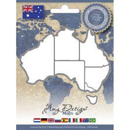 Find It Trading Amy Design Map Die Australia - ADD10008