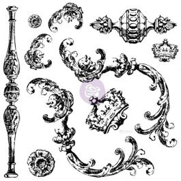 Iron Orchid Designs Decor Clear Stamps Louis - 814335