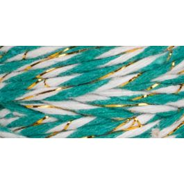 The Makery Bakers Twine 40M Spearmint & Gold - MAKE-008