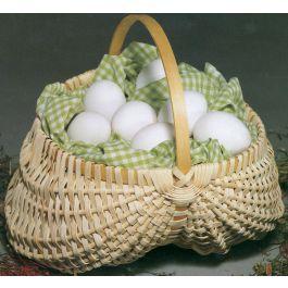 """Blue Ridge Basket Kits Egg Basket 7""""X7"""" - 12668"""