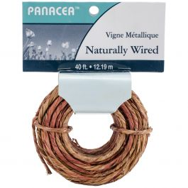 Coiled Wrapped Wire 40' Natural - 60120J