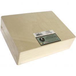 "Basswood Hinged Cornice Box 12""X3.25""X9"" - 3213"