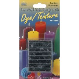 Concentrated Candle Dye .75Oz Block Cranberry - 110000D-76