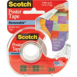 """Scotch Removable Poster Tape .75""""X150"""" - 109-3M"""