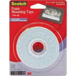 "Scotch Foam Mounting Tape .5""X150"" - 4013-3M"