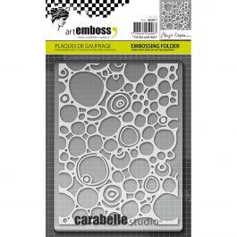 Carabelle Studio Embossing Folder Circles & Dots - AE60011