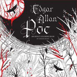 Lark Books Edgar Allan Poe: An Adult Coloring Book - LB-21356