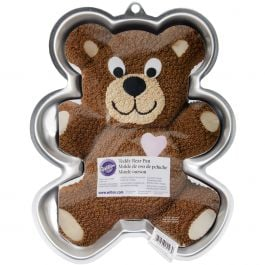 "Novelty Cake Pan Teddy Bear 13.5""X10.5""X2"" - W2105CP-1193"