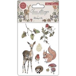 Craft Consortium A5 Clear Stamps Winter Wonderland - CSTMP003