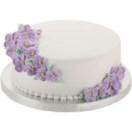 "Cake Bases 14"" Round Silver 2/Pkg - W41189"