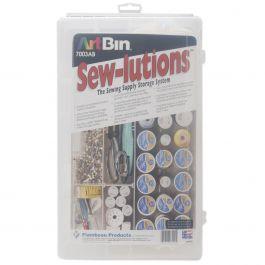 "Artbin Sew Lutions Box 16.5""X9.75""X3.25"" Translucent - 7003AB"