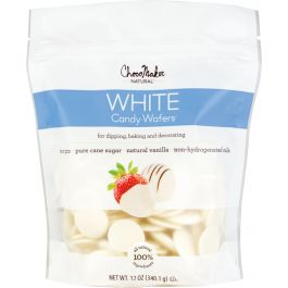 Chocomaker(R) Natural Chocolate Candy Wafers 12Oz Pouch Vanilla - 6847-12