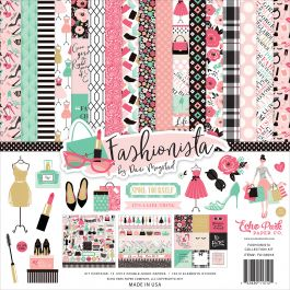 "Echo Park Collection Kit 12""X12"" Fashionista - FA139016"