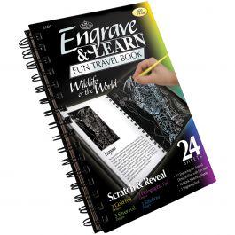 Engraving Art Travel Book Wildlife Of The World - EAB-4