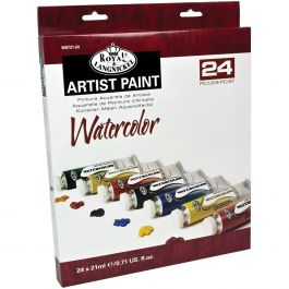 Watercolor Paints 21Ml 24/Pkg Assorted Colors - WAT21-24