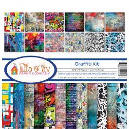 "Ella & Viv Collection Kit 12""X12"" Graffiti - EAV1100"