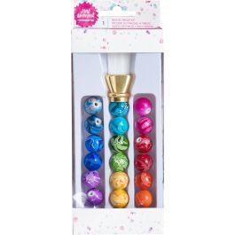Jane Davenport Mixed Media 2 Beaded Brush Kit 20/Pkg 2 Piece Brush, 18 Beads - 320557