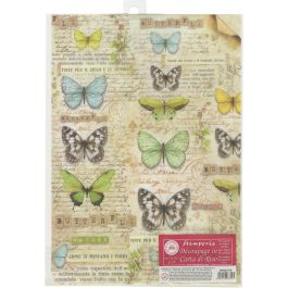 Stamperia Rice Paper Sheet A4 Butterfly - DFSA4178