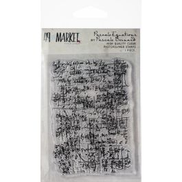 "49 And Market Clear Stamps 3""X4"" Pascale'S Equations - PB87704"