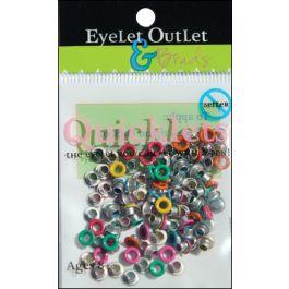 Eyelet Outlet Quicklets Round 84/Pkg Summer 2 - QRND-950