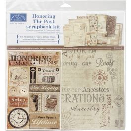 "Karen Foster Scrapbook Page Kit 12""X12"" Honoring The Past - KF20519"