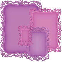 Spellbinders Nestabilities Decorative Elements Dies Decorative Labels 8 - S5148