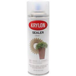 Krylon Clear Sealer Aerosol Spray 6Oz  - 18200