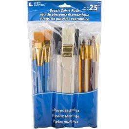Brush Set Value Pack 25/Pkg - 245B