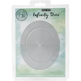Hero Arts Infinity Dies Nesting Oval - DI337