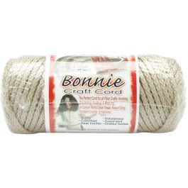 Bonnie Macrame Craft Cord 4Mmx50Yd Pearl (Beige) - BB4-50-005