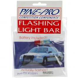 Pine Car Derby Flashing Light Bar W/Battery  - PP10091