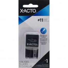 X Acto(R) #11 Refill Blades 15/Pkg  - X411