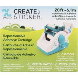 "Xyron 250 Refill Cartridge 2.5""X20' Repositionable - AT25620C"