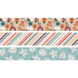 Simple Stories Forever Fall Washi Tape 3/Pkg-